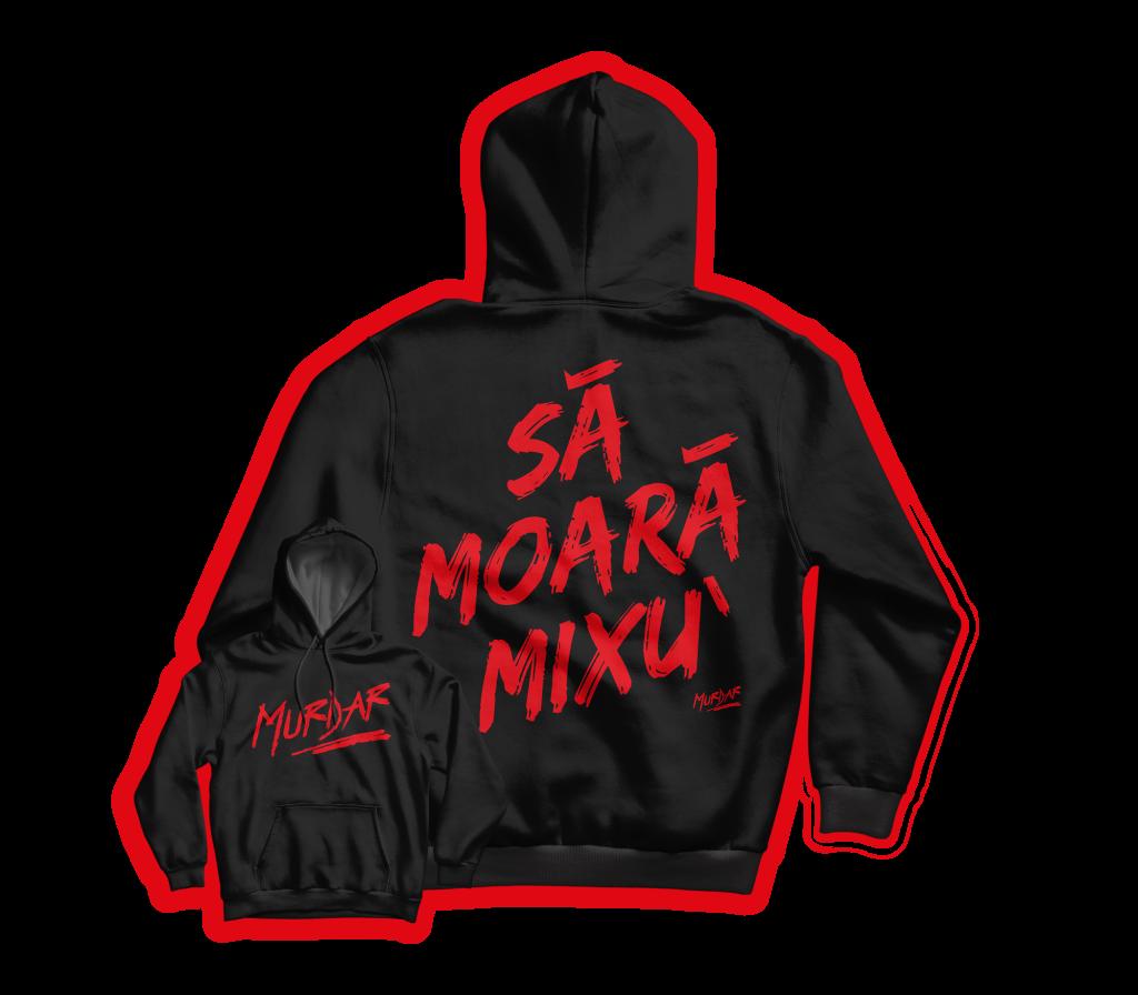 Hanorac Sa Moara Mixu Negru